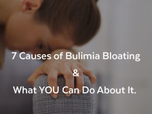 Bulimia Bloating - What To Do